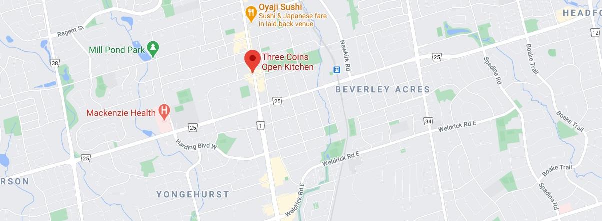 Three Coins Open Kitchen