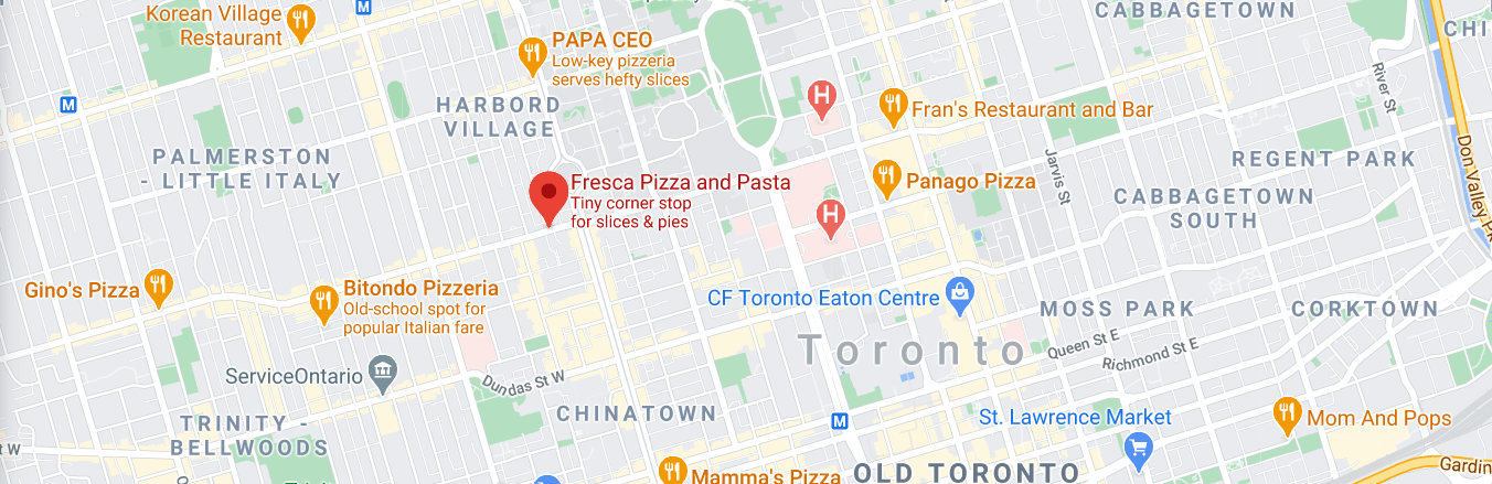 Fresca Pizza and Pasta