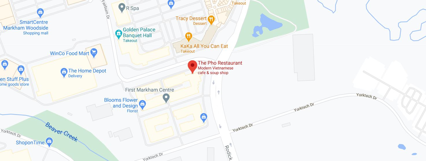 The Pho Restaurant