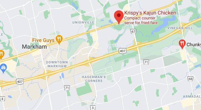 Krispy's Kajun Chicken