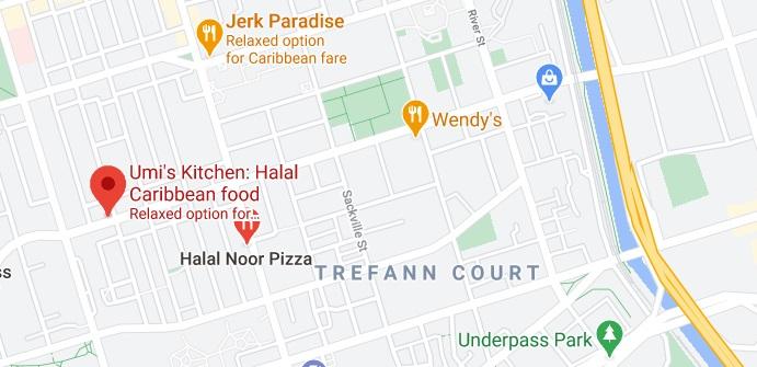 Umi's Kitchen: Halal Caribbean food