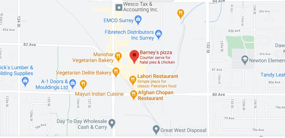 Barney's Pizza & Chicken