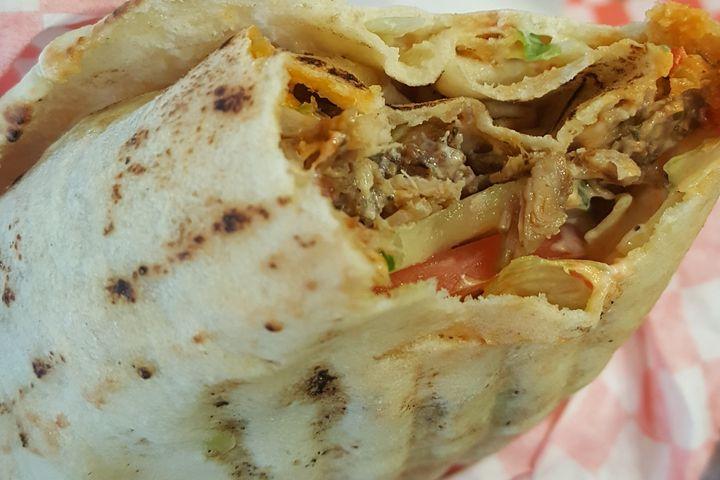 Delicious Shawarma and Falafel