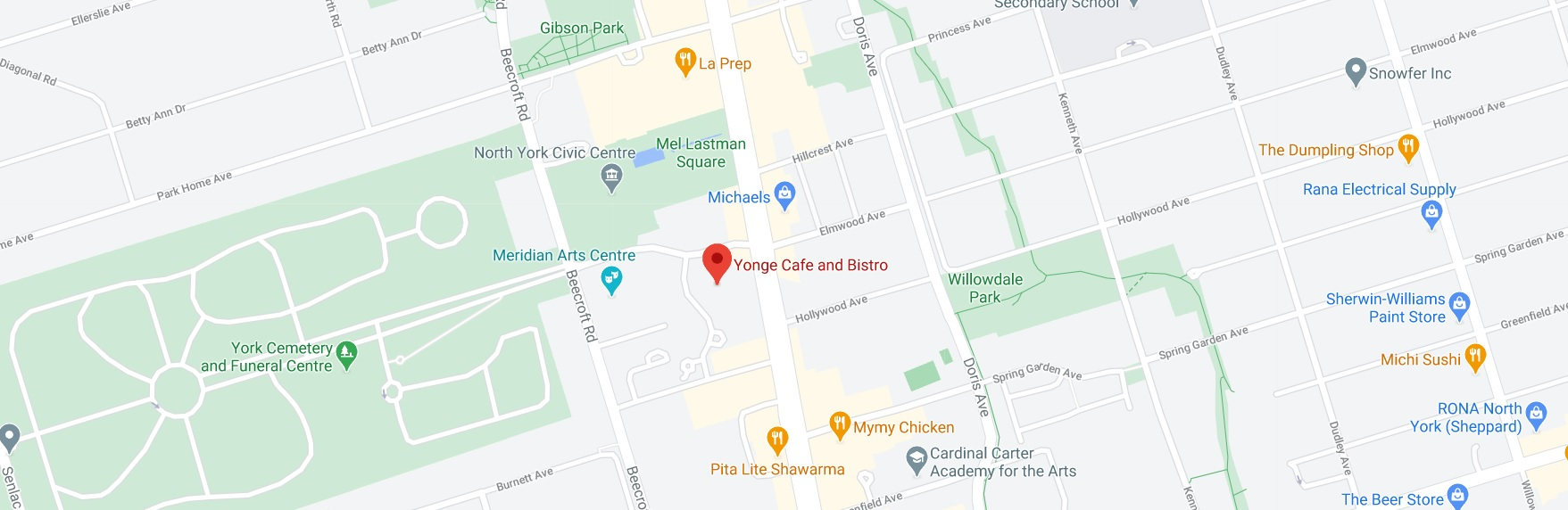 Yonge Cafe and Bistro