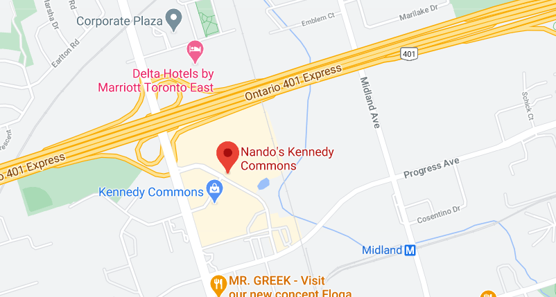 Nando's Kennedy Commons