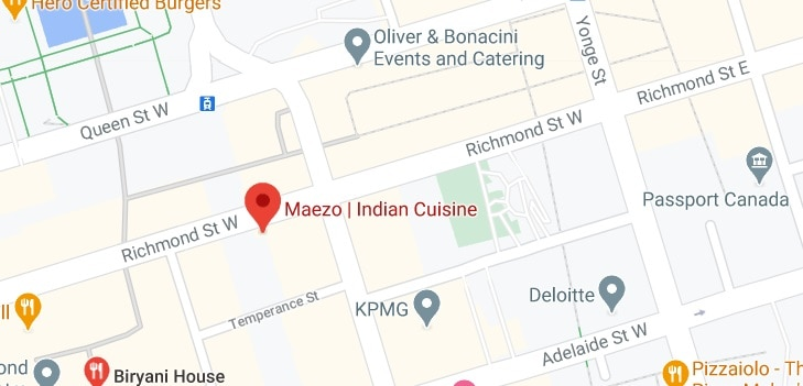 Maezo   Indian Cuisine