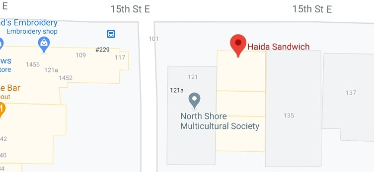 Haida Sandwich (offering delivery service near West Vancouver)