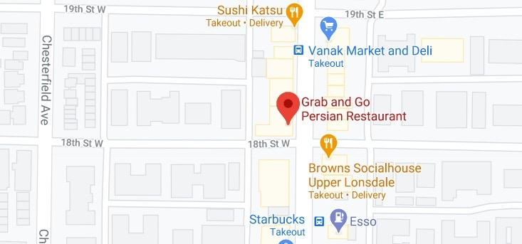 Grab and Go Persian Restaurant