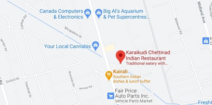 Karaikudi Chettinad Indian Restaurant