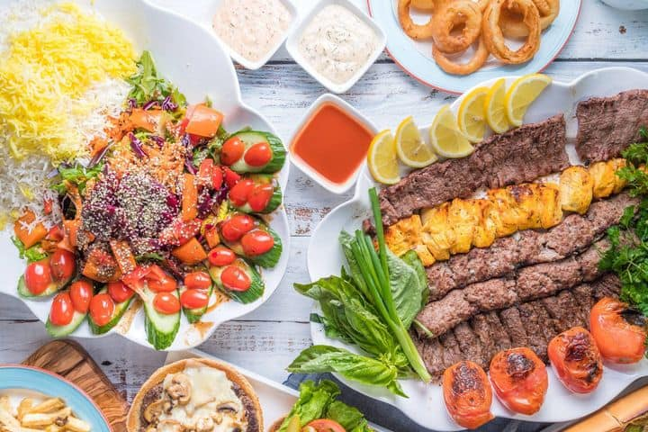 Parsi Sandwiches, Burgers, and Kabobs