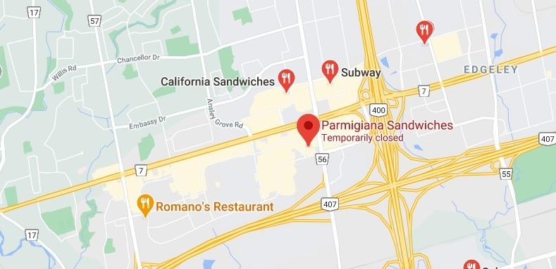 Parmigiana Sandwiches