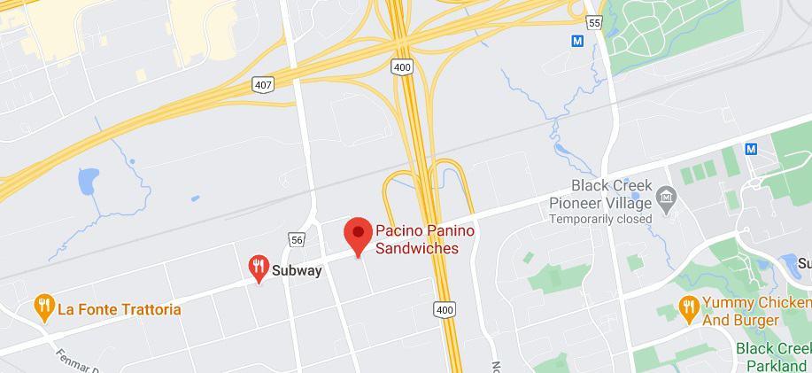 Pacino Panino Sandwiches