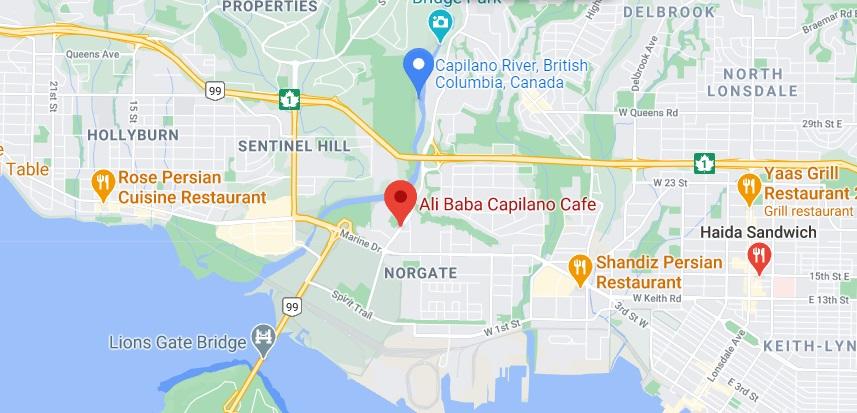 Ali Baba Capilano Cafe