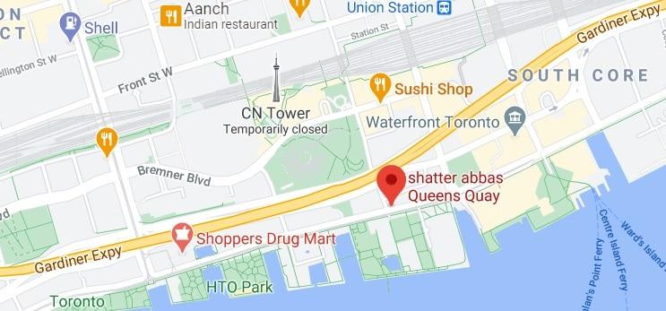 shatter abbas Queens Quay