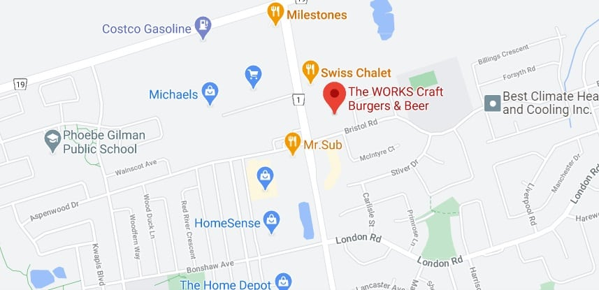 The WORKS Craft Burgers & Beer