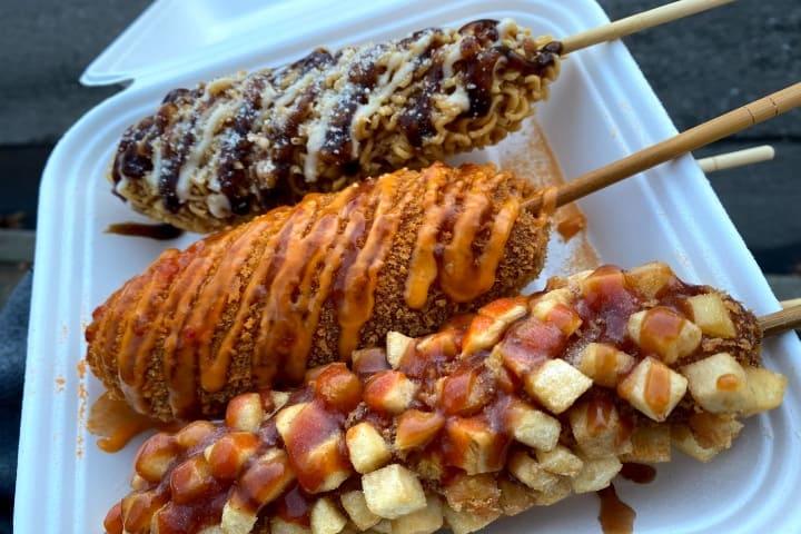 Chung Chun Rice Hot Dog