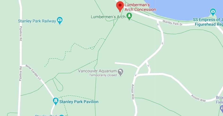 Lumberman's Arch Concession