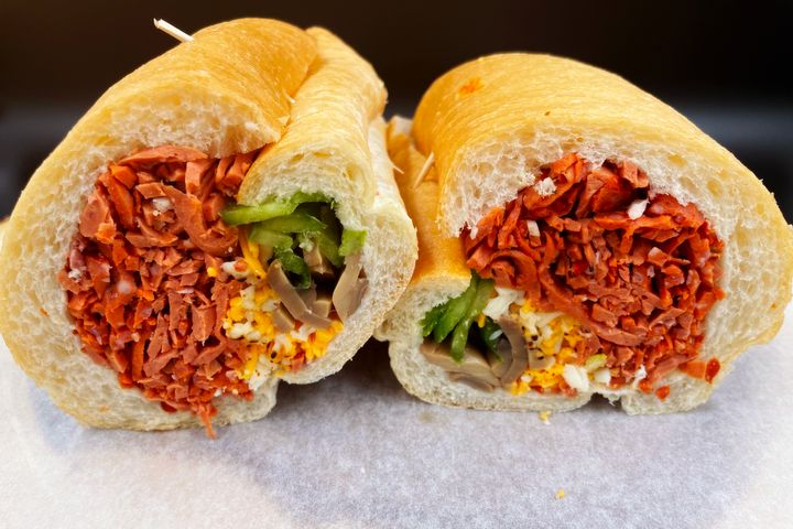 Haida Sandwich offering delivery service to Downtown Vancouver)